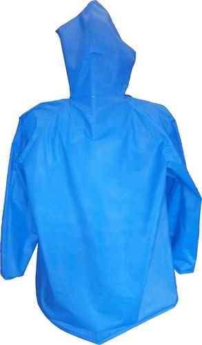 abrigo impermeable calibre 4 para publicidad, p.o.p. docena