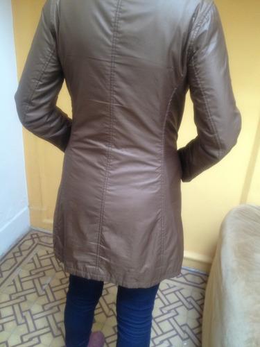 abrigo impermeable de microfibra no jazmin chebar