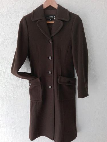 abrigo largo para dama, marca ivonne con envio gratis.