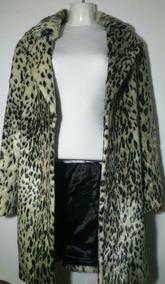 más popular tienda del reino unido calidad real Abrigo Leopardo Pelo Sintético Suave H&m Talla M 36