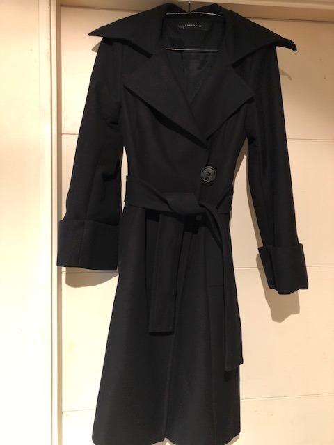 Libre Talla En M Mujer Zara Mercado Abrigo Negro 000 31 CAUqxzw