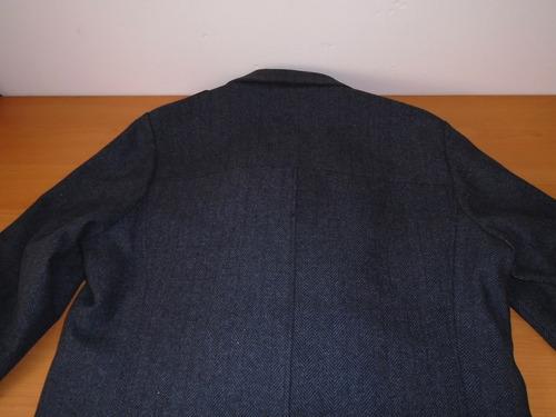 servicio duradero en venta venta al por mayor Abrigo Nautica (herringbone Walker Coat) Large 100% Original