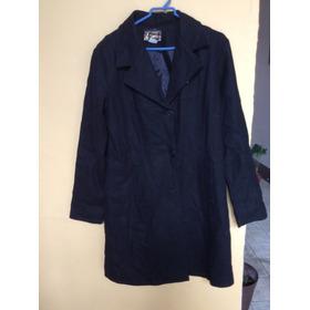 Abrigo Negro  Excelente Condiciones  Talla 32 Envio Gratis