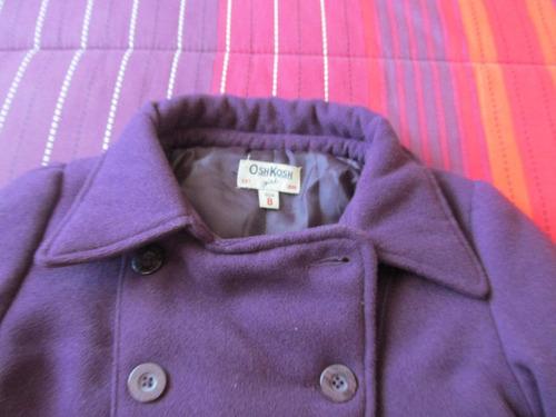abrigo niñita talla 8 marca oshkosh