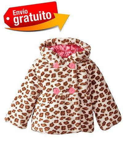 abrigo para bebe niña  animal print nuevo marca wippette