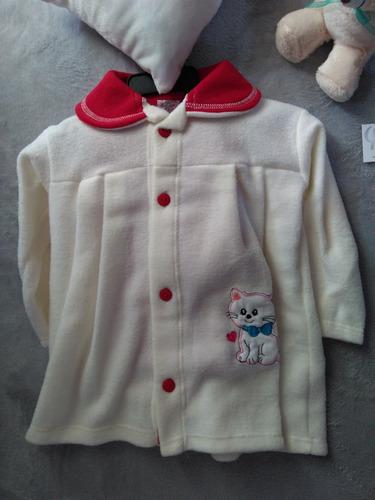 abrigo para bebe niña con pantaloncitos