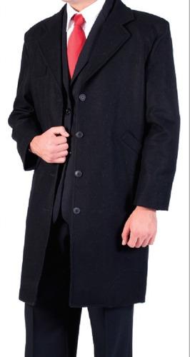 abrigo para hombre 85% lana / 15% nylon marca fratelo
