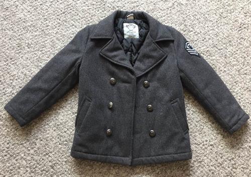 abrigo para niño marca appamanappman talla 6