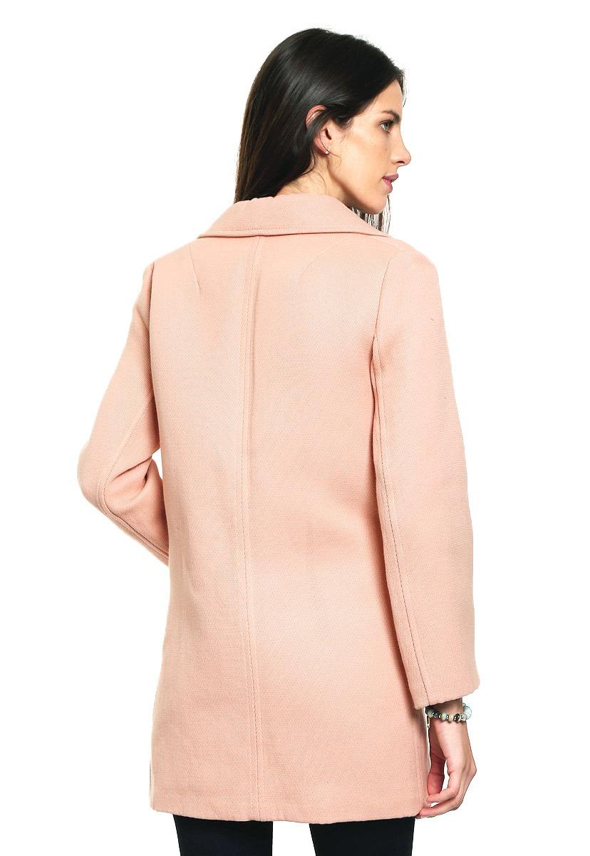 Abrigo rosa mango