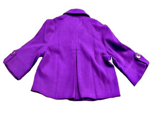 abrigo saco para dama talla 32 precio de liquidacion barato