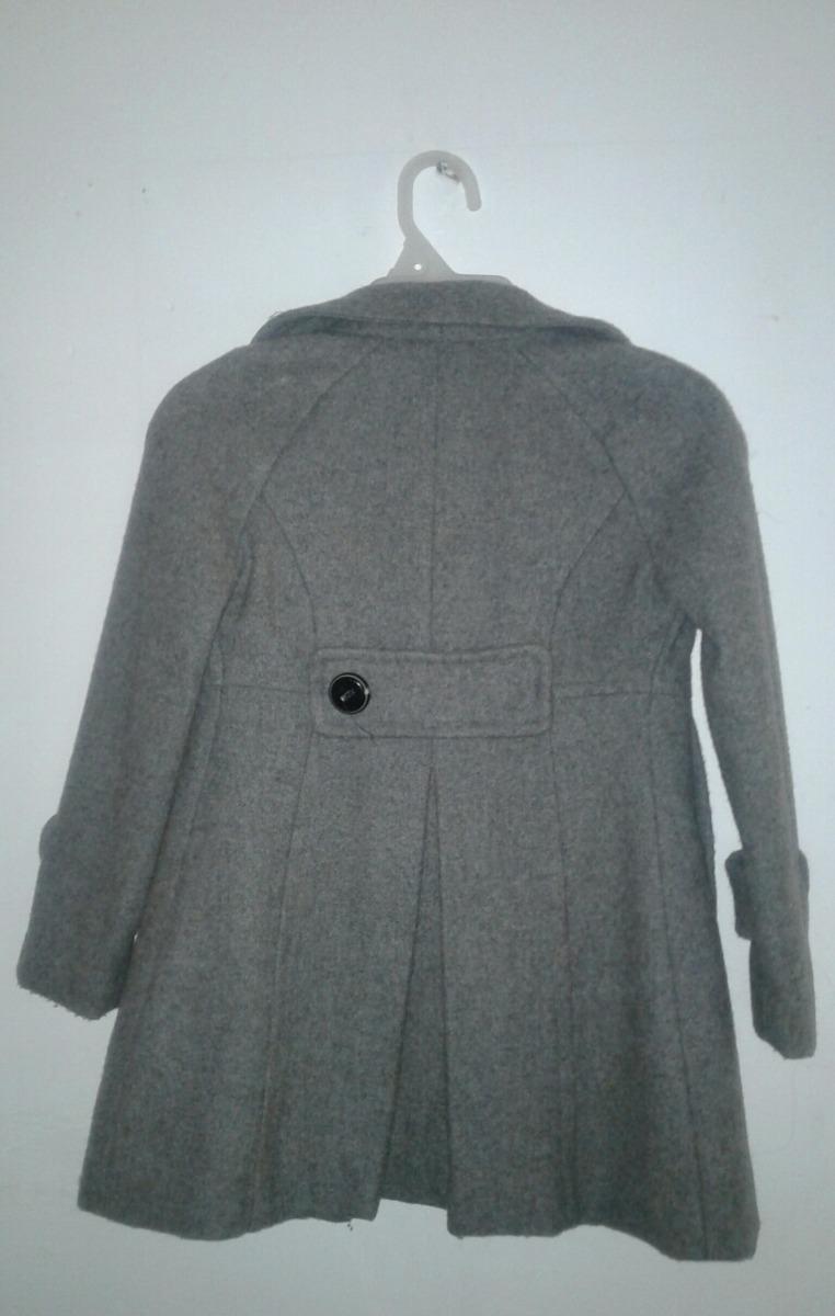 en venta 4fed4 41a73 Abrigo Shyla Gris Oxford Para Niña - $ 400.00