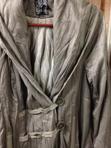 abrigo umbrale seminuevo impecable abrigador y suave