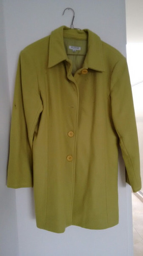 abrigo verde seco talla 15