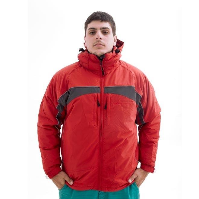 Abrigo Vermelho Com Preto Parkha Andes Ii Tamanho M R 399 90