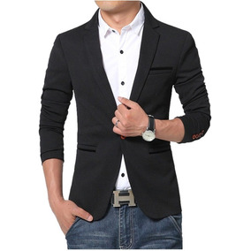 4becffda8fd Saco Casual Formal Blazer Slimfit Maxima Calidad Con Forro