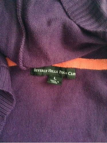 abrigos beverly hills polo club de botones talla l
