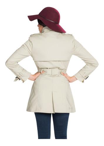 abrigos mujer gabardina dama casual formal vestir moda