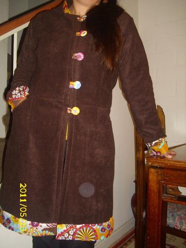 abrigos polar mujer