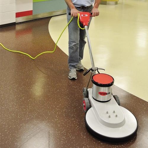 abrillantadora de pisos pulidora de 1500 rpm eléctrica para brillar pulir pisos de marmol granito loseta porcelanato