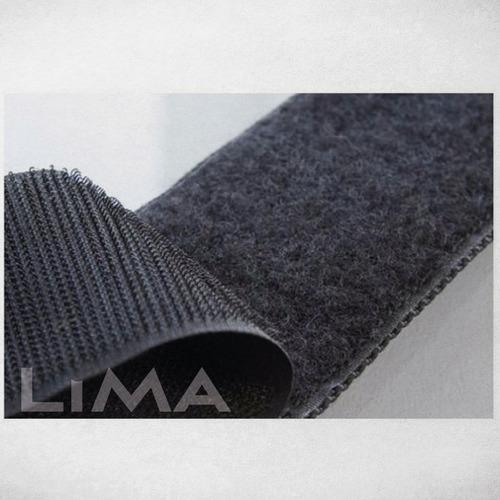 abrojo velcro 20 mm / 2 cm ancho rollo de 10 mts 100% nylon