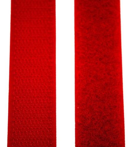 abrojo velcro 20 mm / 2 cm ancho rollo de 10 mts 70% nylon