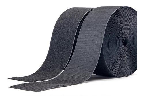 abrojo velcro 50 mm / 5 cm ancho rollo de 10 mts 100% nylon