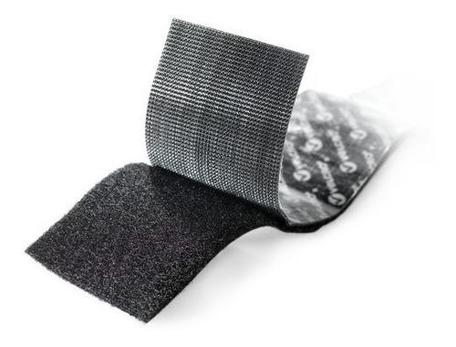 abrojo velcro autoadhesivo 90 x 5 cm rollo alta resistencia