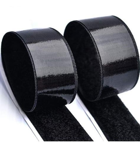 abrojo velcro autoadhesivo cinta 50mm / 5 cm rollo x 25 mts
