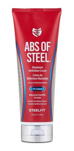 abs of steel 8 oz crema fit abdomen musculo definicion