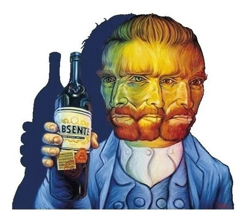 absenta van gogh licor 750ml botella original 01almacen