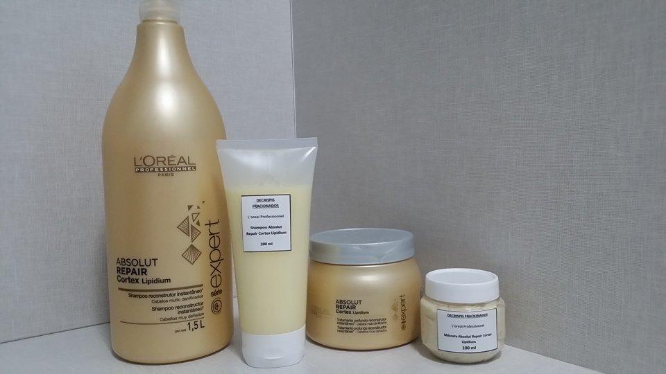 2c28f9e16 absolut repair cortex lipidium shampoo 200ml + máscara 100ml. Carregando  zoom.