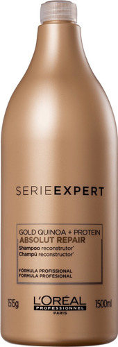 absolut repair gold quinoa + protein 1,5l shampoo lóreal
