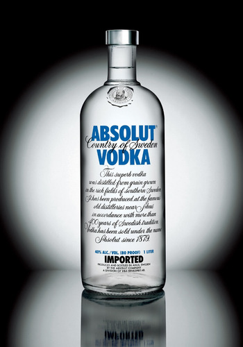 absolut vodka 100% original 1 litro lacrada