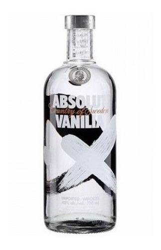 absolut vodka sabores - 750ml