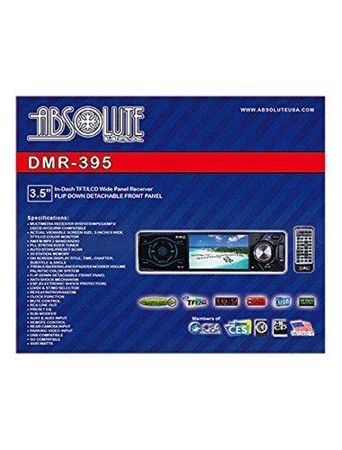 absoluta ee.uu. dmr-395 de 3,5 pulgadas de dvd / mp3 recepto