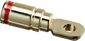 Absolute GRT102-1 Pair 2 Gauge Gold Power Ring Terminal