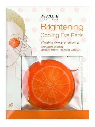 absolute ny - cooling eye pads - orange & vitamin e