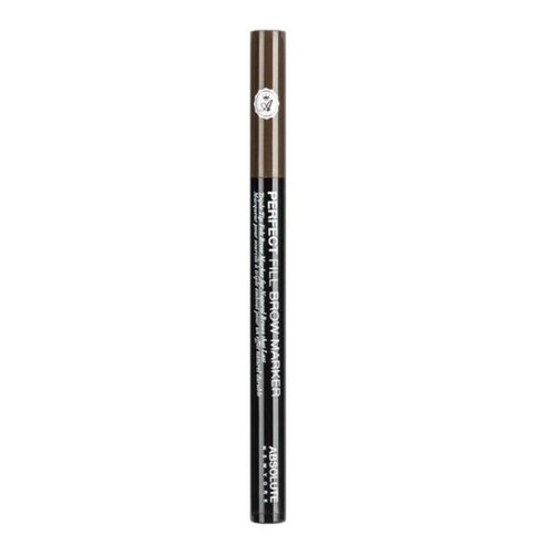 absolute ny -  perfect fill brow marker - 02 espresso