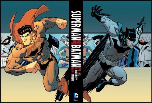absolute superman/batman vol. 2 ¡nuevo!!