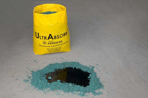 absorbente industrial universal ultrabsorb x 3 kg (170l)