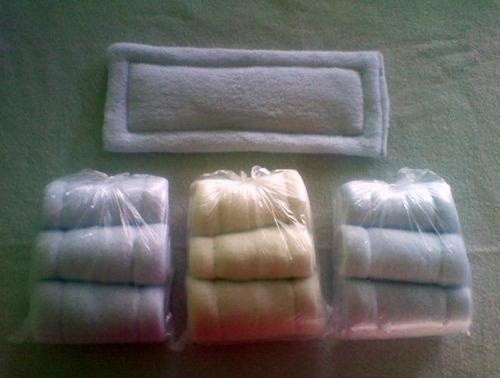 absorbentes hipoalergénicos de pañal ecológico 32 x 15cm