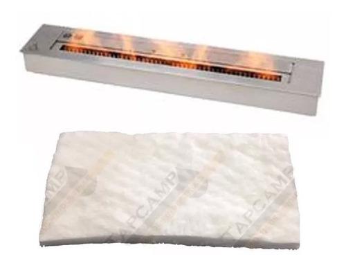 absorvente cerâmico p/ lareiras ecológicas queimador