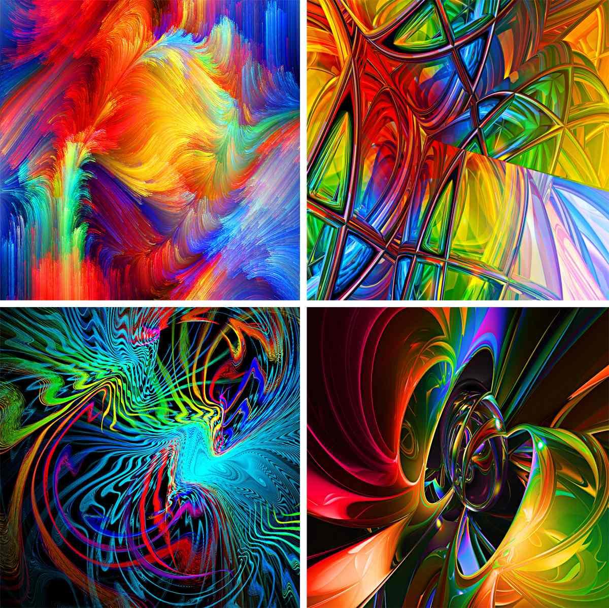 Abstractos lienzo lienzograf as 60x90 cuadros impresi n for Imagenes de cuadros abstractos rusticos