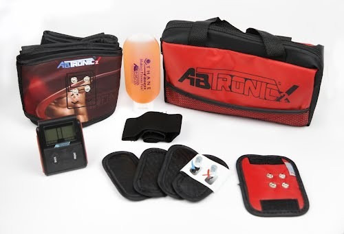 abtronic x2.cinturon,faja,gel,minibelt,gratis libro. nuevo