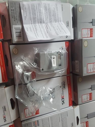 ac adaptador new 3ds, nuevo, envio gratis.