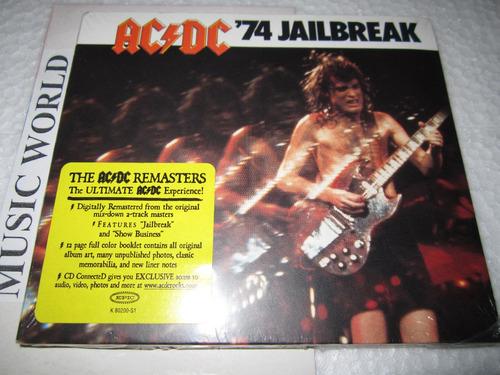 ac-dc 74 jailbreak digipack remasters u.s.a.