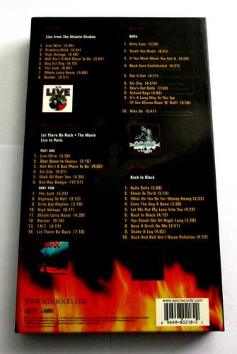 ac / dc, box set, bonfire, edición especial
