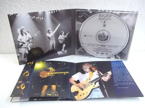 ac dc flick of the switch cd original impecável frete 12