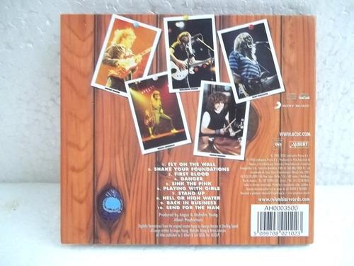 ac dc fly on the wall cd original novo frete 12,00