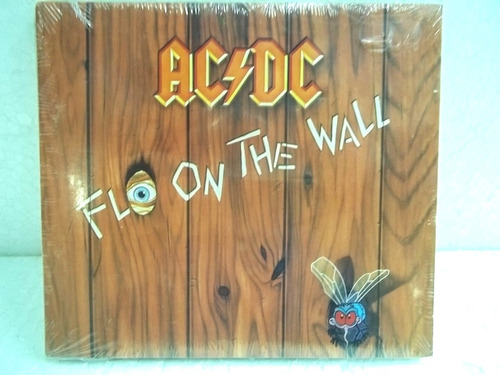 ac dc fly on the wall cd original novo lacrado frete 12,00